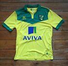 Norwich City 2014-15 Season Player Worn and Signed (Javier Garrido) Shirt No.18