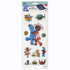 In The Night Garden Stickers 3D 4001