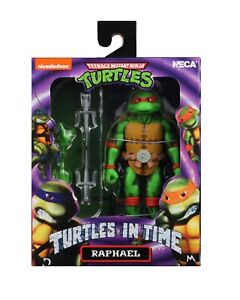 TMNT - Turtles in Time Raphael Action Figure NECA