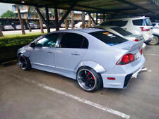Fender Flares over wide body wheel arches Metal For Honda Civic 05-11 FD / JDM