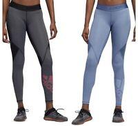 Women Adidas Originals Climacool Leggings  Alpha Skin Of Sport Badge