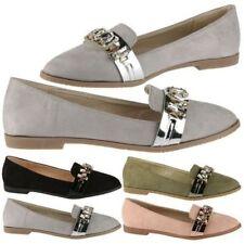 Zapatos planos de mujer mocasines