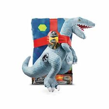 "Jurassic World 2pc 40'x50"" Dino DNA Throw Blanket & Pillow Set"