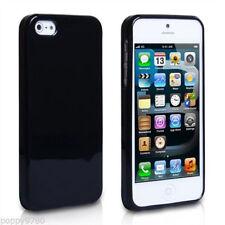 Étuis, housses et coques noirs iPhone 5s en silicone, caoutchouc, gel pour téléphone mobile et assistant personnel (PDA)