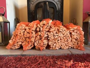 6 NETS OF QUALITY KINDLING FIREWOOD FROM LOGS FOR  WOODBURNERS HAND PACKED