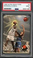 1992 Ultra Shaquille O'Neal Rejectors Rookie #4 Orlando Magic PSA 9 Mint RC