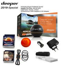 Spezial Deeper Pro Plus WIFI GPS & Abdeckung & Halter & 2 Ladegeräte Fischfinder