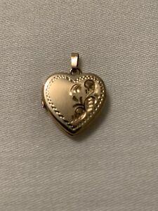 14kt Gold Heart Locket