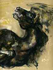 Das PFERD im WELTKRIEG 1 - Walter SPITZER - 3 OriginalFarblithographien 1959
