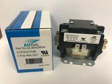 40 Amp 2 Pole 24V Coil HVAC Definite Purpose Contactor Replacement- ALLTEK