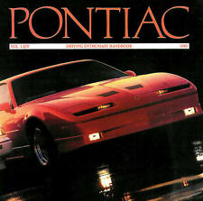 1989 PONTIAC BROCHURE -TRANS AM GTA-FIREBIRD FORMULA-GRAND PRIX-GRAND AM-SUNBIRD