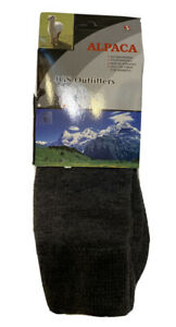 Peruvian Alpaca Unisex Winter Socks New Size Medium