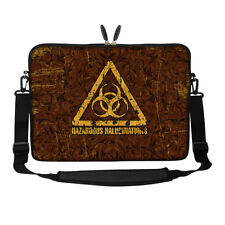 "17.3"" Laptop Computer Sleeve Case Bag w Hidden Handle & Shoulder Strap 3013"