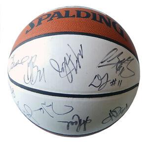 1999-00 Dallas Mavericks Team Signed Basketball 16 Autos Nowitzki Nash Davis