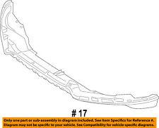 FORD OEM 13-16 Escape-Nose Bumper Panel-Valance Spoiler Lip CJ5Z17D957AA