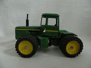 "Vintage Toy John Deere Green 13.5"" Metal Heavy Tracker 1009"