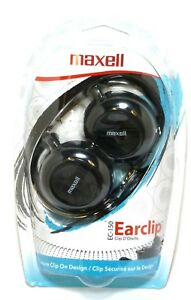 MAXELL 190561 EC150 Ear Clip Headphones/Earphones,for mp3,Radio,phone