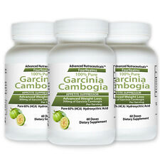 3 PURE GARCINIA CAMBOGIA EXTRACT WEIGHT LOSS POWDER DIET 60% HCA DIET PLUS