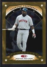 MO VAUGHN 1997 DONRUSS PREFERRED #103 GOLD SP RED SOX RARE