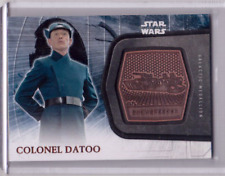 COLONEL DATOO 2017 Star Wars The Force Awakens Galactic Medallion Snowspeeder 22