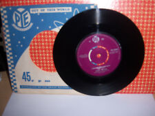"""GARY MILLER(7"""")THERE GOES THAT SONG AGAIN B/W THE NIGHT IS YOUNG-1961-PYE-15404"""