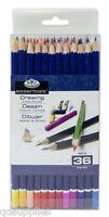 Set 36 Royal Langnickel Surtido Artista Color Lápices Colorante Dibujo PEN-36