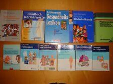 Fachbücher Thieme Koletzko Pflege Ausbildung Nachschlagewerke 11 Stück