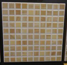 1 scatola di piastrelle 20x20 mosaico beige
