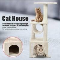 Cat Scratcher Tree Furniture Post Climbing Scratching Kitten Scratch Cats Toys