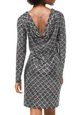 MICHAEL Michael Kors Glitter Chandelier Print Dress M
