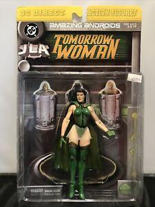 Tomorrow Woman JLA DC Direct Action Figure MOC Sealed 2000