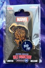 "Disney Pin NEW DLR runDisney Thor ""I Did It"" Super Heroes Half Marathon"