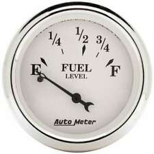 AUTO METER Old Tyme White 2 1/16in Fuel Pre 65 GM P/N - 1607