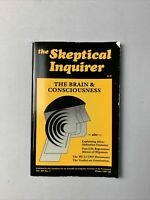 Vintage Skeptical Inquirer Magazine Winter 1987 - The Brain And Conscious