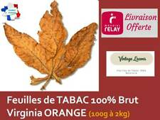 FEUILLE DE TABAC VIRGINIE ORANGE 2 KG
