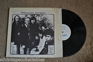WOODEN NICKEL Nash Young CANYON private label Rock RECORD LP VG+