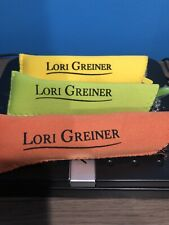 Set of 3 Reading Glasses with Soft Cases by Lori Greiner Sunshine +1.5NEW