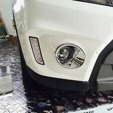 For Suzuki Vitara Escudo 2015 2016 2017 18 Chrome Front Fog light Fog Lamp Cover