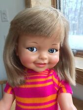 "Vintage Ideal Giggles Doll 18"" Original Outfit!! NICE!!!  1967"