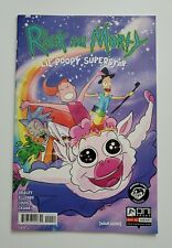 Rick and Morty Lil' Poopy Superstar #1 ~ Oni Press 2016 ~ Newbury Exclusive VF+