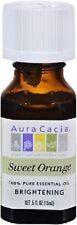Aura Cacia Sweet Orange Brightening 100% Pure Essential Oil -.5 Fl. Oz.