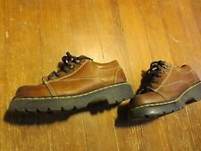 Dr. Martens Doc 8A47 Brown Leather Lace-Up Work Boot Oxfords Men's U.S. 7