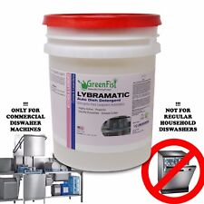 Commercial Industrial Grade Dishwasher Detergent 5 Gal. Lybramatic[Ready To Use]