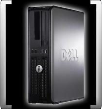 DELL OPTIPLEX 760 INTEL CORE 2 DUO E8500 3.16GHZ 2GB RAM 160GB HDD DVD DESTOP PC