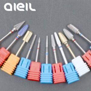 Ceramic Milling Carbide Nail Drill Bits Manicure Machine Burr Milling Cutters