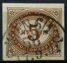 Austria 1899-1900 SG#D130d, 5h Brown Postage Due Imperf Used #D60484