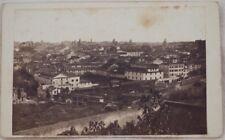 ROMA PANORAMA DAL VATICANO VATICAN FOTOGRAFIA STORICA 1870 ROME PHOTO PHOTOS