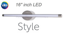 "1 Light 36"" inch Brushed Nickel Dimmable LED Fixed Style Selections Henniker NEW"