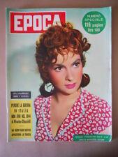 EPOCA n°167 1953 Gina Lollobrigida -La guerra in Italia non fini nel 1944 [G774]