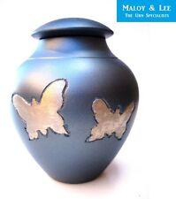 Butterflies 120 ml Large Keepsake Cremation Memorial Ashes Brass Metal Urn